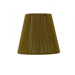 Mantra MS013 Clip On Silk String Shade Olive 80/130mm x 110mm