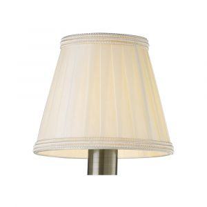 Diyas ILS31228 Willow Clip On Shade Cream 80/130mm x 110mm