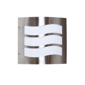 Endon YG-016-SS Stainless Steel Outdoor Light 1 Light In Metal