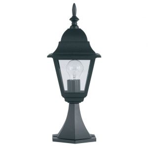 Endon YG-1002 Exterior Post Top Black 1 Light In Metal