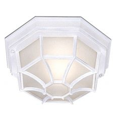 Searchlight 2942WH Outdoor & Porch - White Flush Outdoor Light. IP44