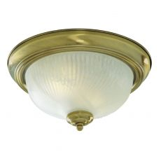 7622-11AB Flush Ant/Brass C/Fitting 28Cm