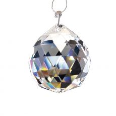 Diyas C10030 Crystal Sphere Without Ring Clear 30mm