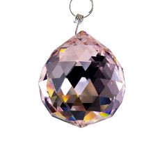 Diyas C10041 Crystal Sphere Without Ring Lilac 40mm